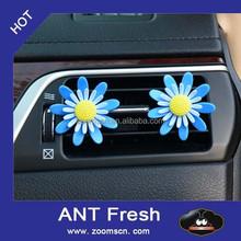 plastic flower car vent clipps car air freshener