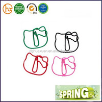 Hello kitty shaped paper clip with low MOQ and free sample