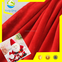 100%polyester different types of warp knitting fabric for christmas toy