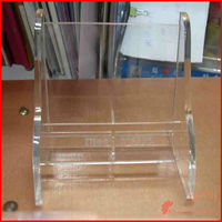 Clear acrylic easel book stand_Acrylic book display