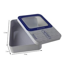 Wholesale digital products packaging tin box, tin box for packing bluetooth