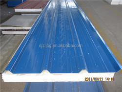 Insulated and fire proof sandwich roof panel for solar utilization from china supplier