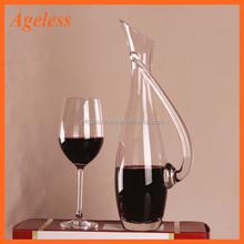 decanter wine glass set/insulated wine glass/antique glass wine decanter