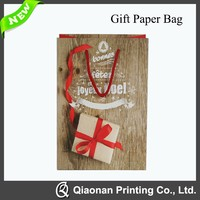 High Quality Printing Gift Paper Bags With Rope Handle