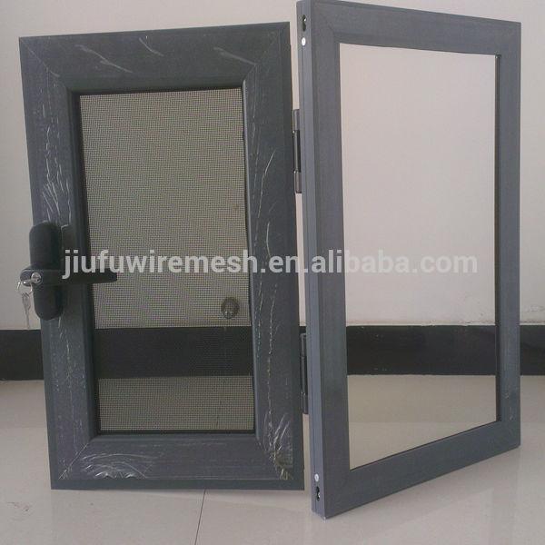 Bullet proof security steel mesh screen door and windows for Mesh for windows and doors