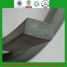 Rubber water swelling strip for concrete joint