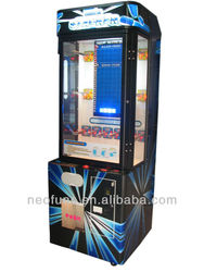 Stacker game machine ,vending game machine .pile up prize machine