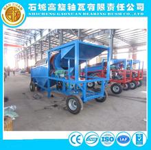 Certificación CE pantalla lavadora maching arena tamiz por la minería de procesamiento