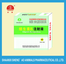 Vitamin B1 Injection for Veterinary Drugs with GMP Certificate