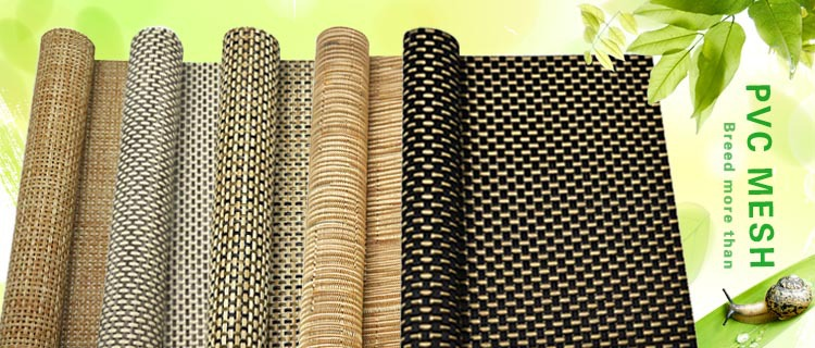 pvc coating polyester blind screen fabric window curtain roller mesh ...