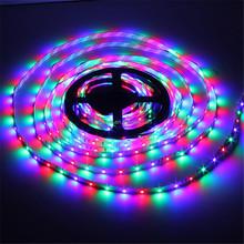 new product popular diwali light led strip 5M 300leds RGB 3528 LED Strip Lights with 44key Remote controler led strip 3528 kit
