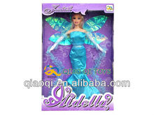 11.5 inch real body leaves fairy fashion doll 2012 set