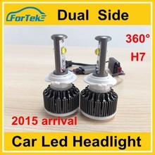 led head light 30w h7 led new fan car