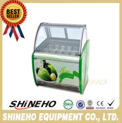 Ice Cream Display Freezer/ice cream continuous freezer/ice cream batch freezer