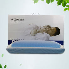 Adult Age Cooling Gel Memory Foam Pillow Coutour Memory Gel Pillow