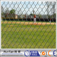 hot dipped galvanized and powder coated chain link fence ( Since 1989,Factory)