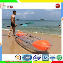 Fishing double kayaks boat on sea in cheap price