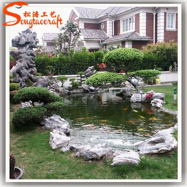 China factory ornamental wall fountains for garden cheap for Ornamental garden features