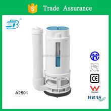 Pressure toilet dual cistern flush valve (A2501)