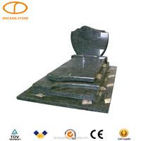 china green granite monument canada headstone