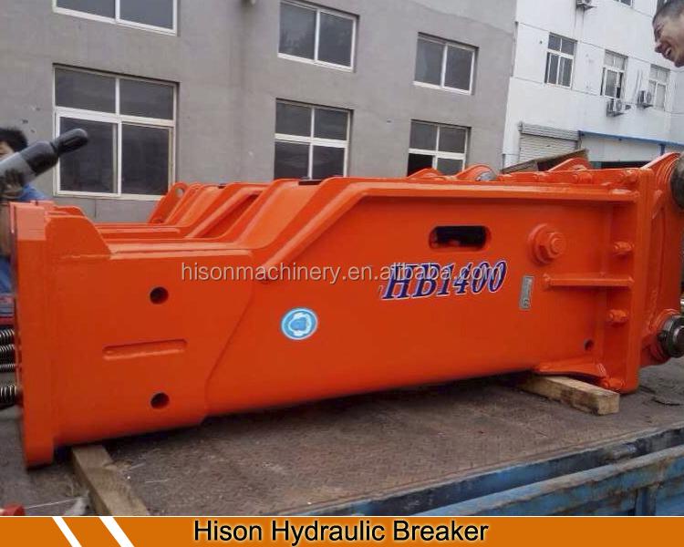 China Peças de Máquinas de Construção escavadeira martelo hidráulico