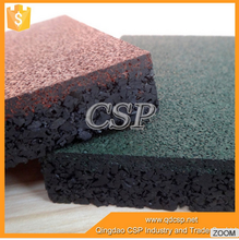 China suppilers 100% recycled rubber granules cheap anti slip rubber mat, rubber floor mat