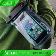 Custom mobile phone pvc waterproof bag armband case