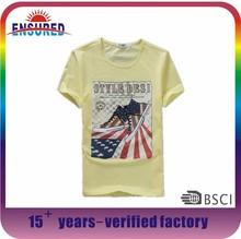 OEM factory custom men's fashionable cotton t shirt