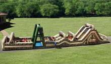 Obstacle Course adult bounce house for sale