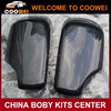 High quality carbon fiber material 4-door style full replacement side mirror cover for BMW E46