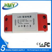 China LED Driver Exporter 12V LED Driver 350mA Low Ripple