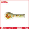 Wholesale recycled unique design holiday use 100%melamine dinnerware spoon shape plate
