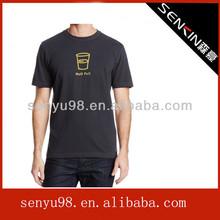 Men's Half Full T-Shirt with Black Color