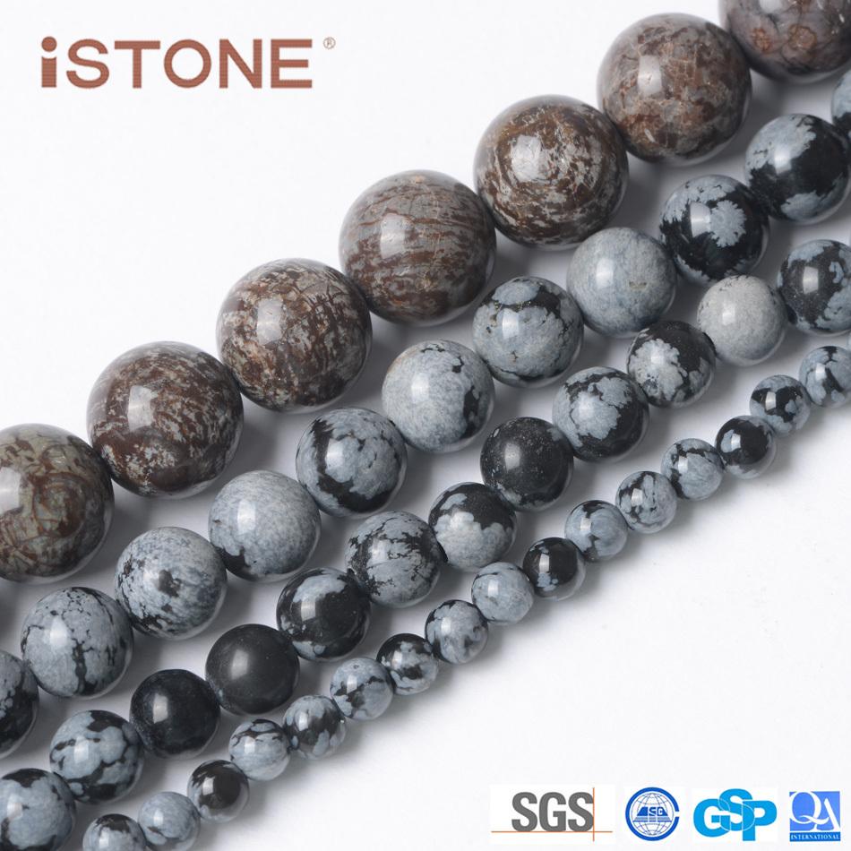 wholesale china gemstone factory 7 mm snowflake