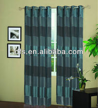 Jacquard Curtain with 8 Grommets