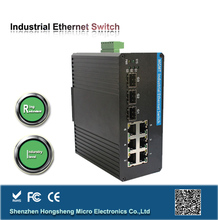 professional manufacture 6*10/100/1000m Base TX to 3*1000m fiber optic ethernet switch