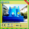 Super quality hotsell jumping castle inflatable water slide