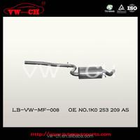 Professional hatchback exhaust muffler manufacture