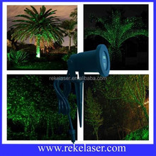 Waterproof starry twinkling starry laser green garden decorative tree light