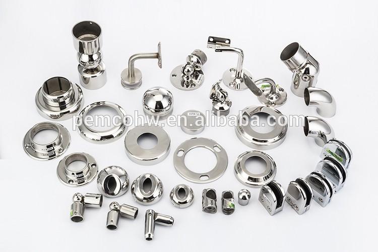 Pared al por mayor ss accesorios de tuber a de acero inoxidable soporte de barandilla barandilla - Accesorios de acero inoxidable para barandillas ...