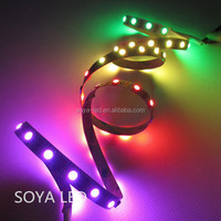 IP20 IP65 addressable flexible led pixel strips ws2812b 60 leds/m