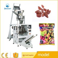 Cup metering automatic packing machine for Red raisins granule packing machine