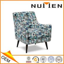 Numen OEM Dark Color Hight Density Sponge Fabric Upholstered Chair