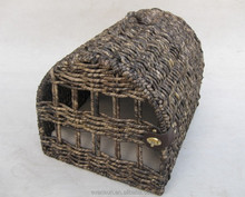 Chinese Factory Directly Wicker Pet House Cages