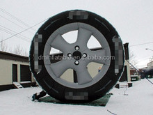 promotional inflatable billboard tyre for advertising
