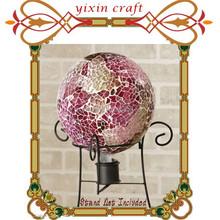 Iridescent Mosaic Glass Garden Decoration Ball