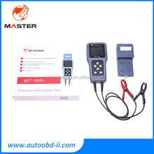 MST-8000+ Auto Battery Analyzer with detachable printer Battery System Tester car battery tester