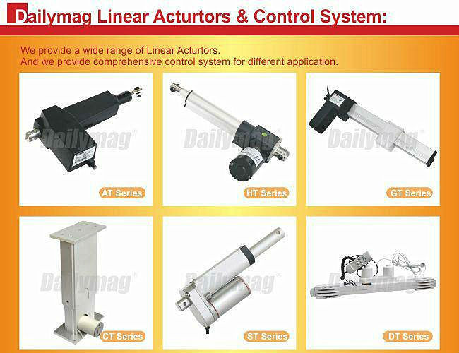 600mm Linear Actuator with Servo Motors