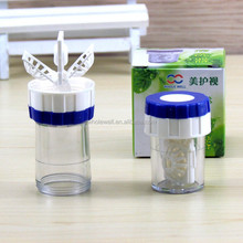 Sample contact lens cleaner,contact lenses cleaner manual cup style lenses machines