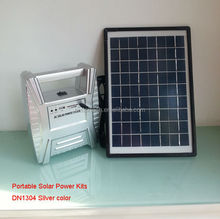 10W DC solar panel kit mobile charger power energy lighting home sun system